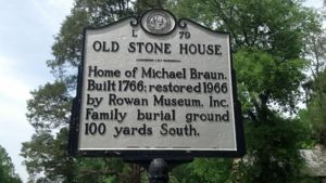 Old Stone House sign