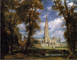 Salisbury Cathedral from the Bishop Grounds by John Constable