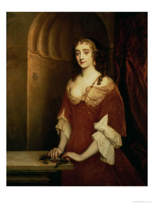 Nell Gwynne (probably) by Sir Peter Lely.