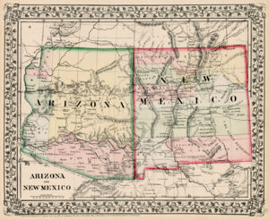 US Southern Colonies Arizona page Image 9