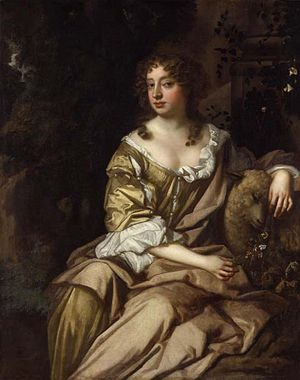 Nell Gwynne by Sir Peter Lely.