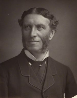 Matthew Arnold, by Elliott & Fry