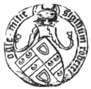Seal attached to a charter (Ogle, 1902, p.12-13).