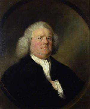 William Boyce painted by Mason Chamberlin