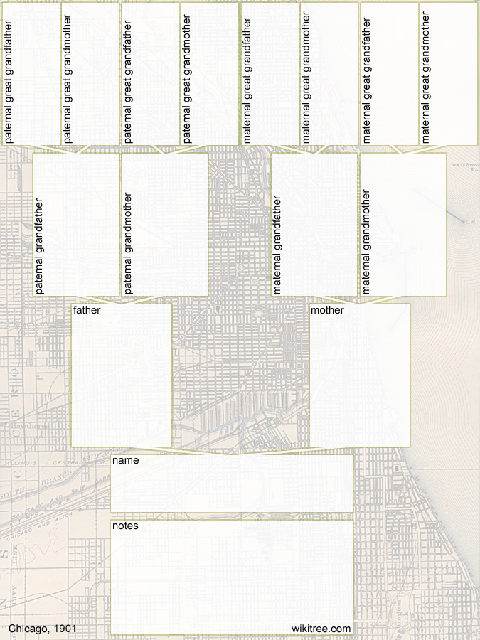 Family Tree Map Template Blank Family Tree Template